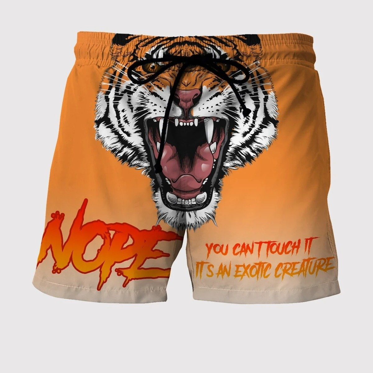 Nope - You Can't Touch It - Custom Beach Shorts - Swim Trunks