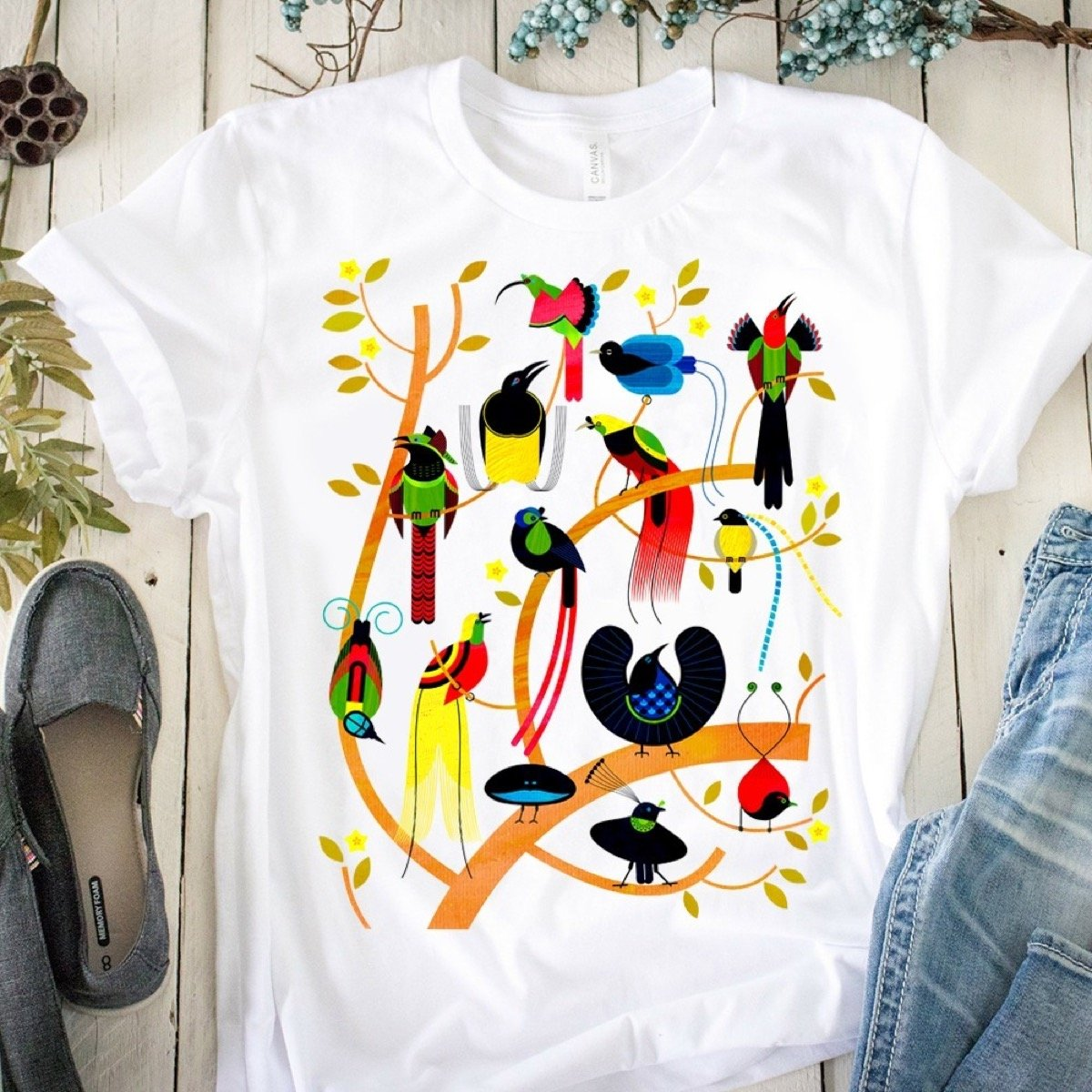 Free as a Bird T-shirt 25