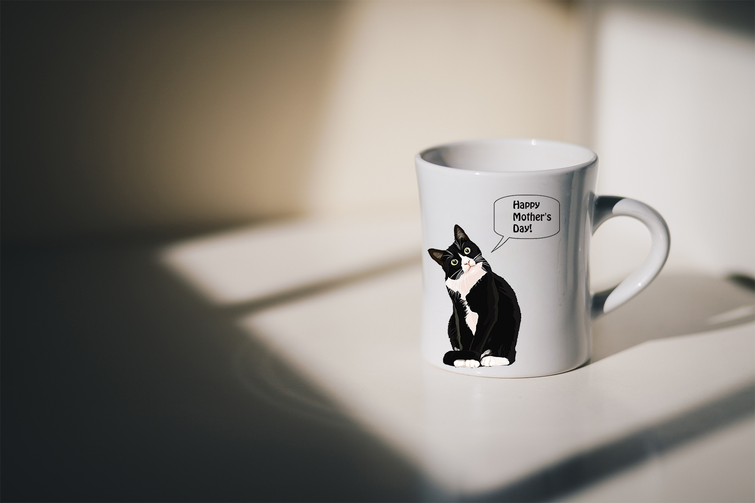 Happy Mother's Day Cute Cat Mug
