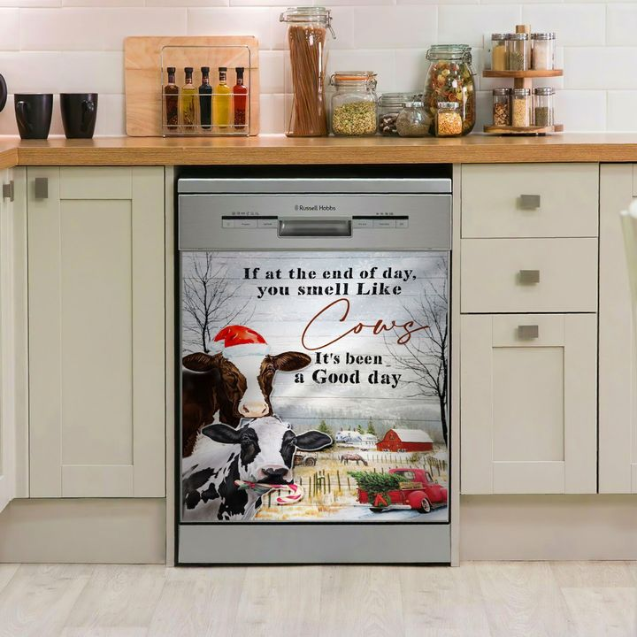 Cows It Has Been A Good Day TCCL101112450 Decor Kitchen Dishwasher Cover