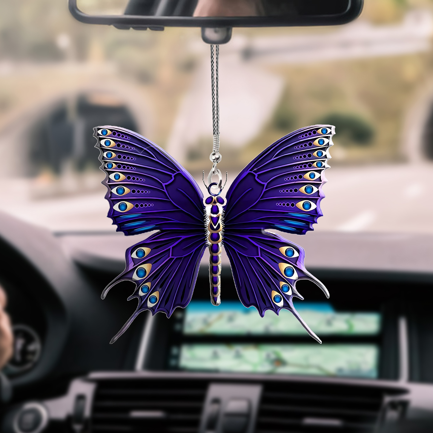 Butterfly Car hanging Ornament 14