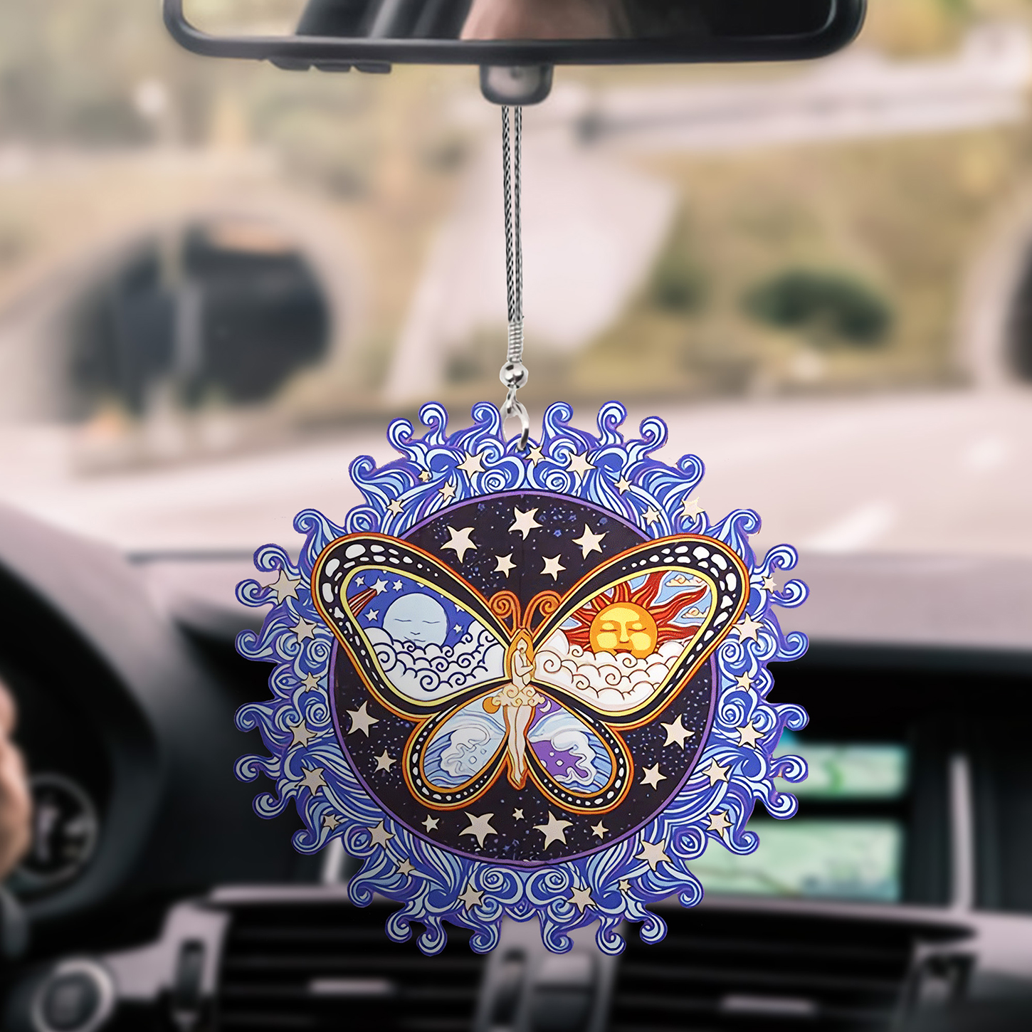 Butterfly Car hanging Ornament 7