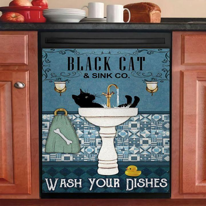 Love Cat Dishwasher Cover 0011