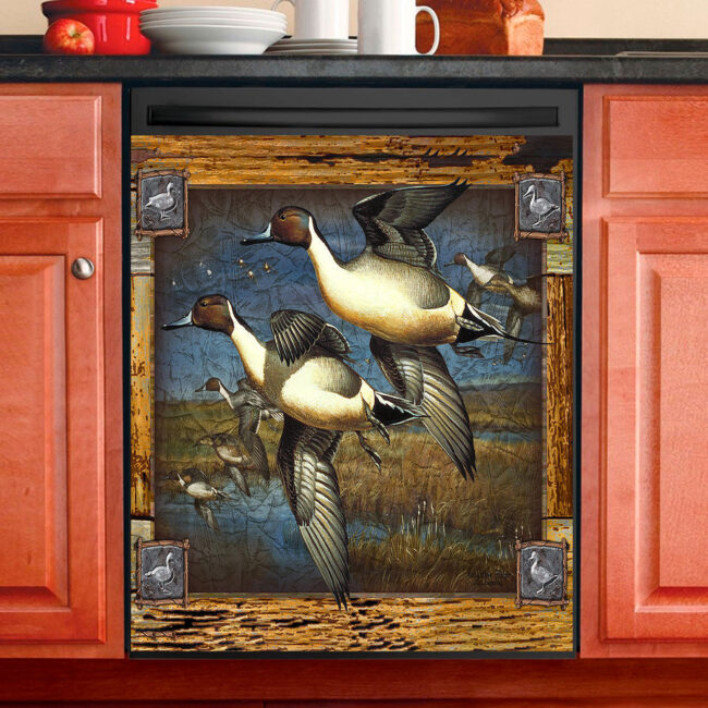 Pintail Duck Hunting Dishwasher Cover