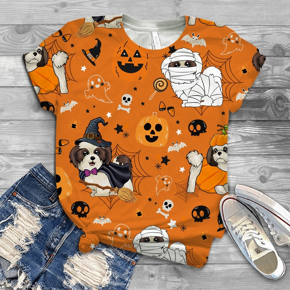 Shih Tzu Costume Halloween T-shirt